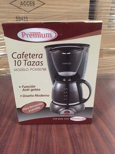 Cafetera Premium 10 Tazas (Trump)
