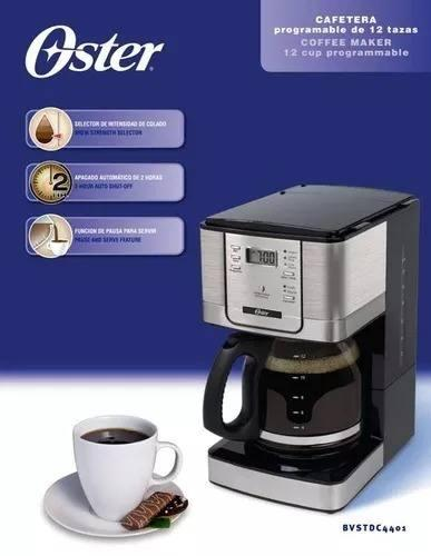 Cafetera Programable 12 Tazas Oster 4401