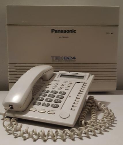 Central Telefónica Panasonic Kx-tem824 6lineas 24ex