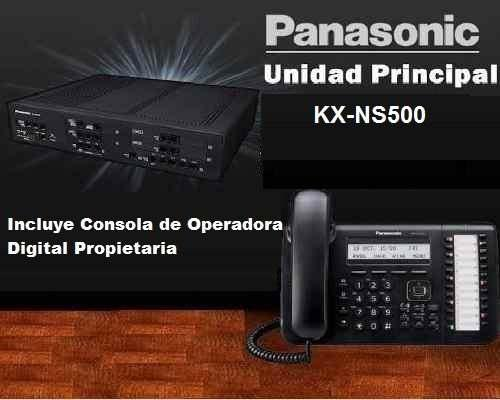Central Telefonica Panasonic Kx-ns500 12 Lineas 36 Extension