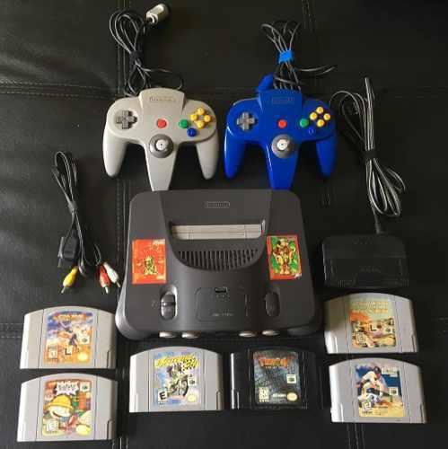 Consola Nintendo 64 + 6 Juego Originales