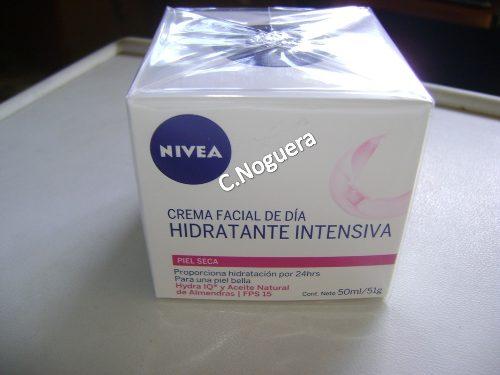 Crema Nivea Facial De Dia Hidratante Intensiva Piel Seca