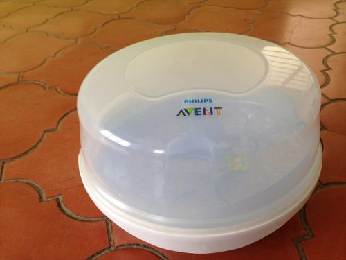 Esterilizador De Teteros Para Microondas Avent