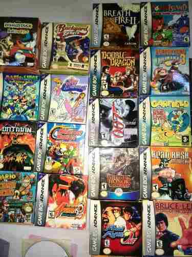 Juegos De Gameboy Advanced Genericos