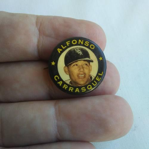 Pin Alfonso Chico Carrasquel Beisbol
