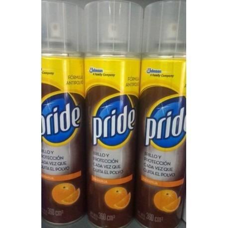 Pride Limpiador Naranja Y Natural De 360 Cc