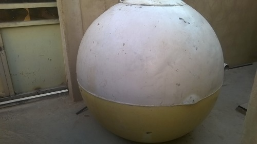 Tanque De Agua De Fibra De Vidrio De  Litros