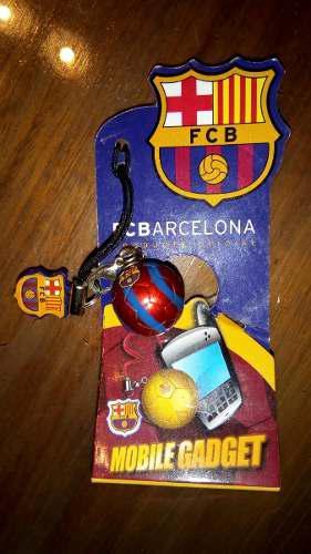 Adorno Accesorio Para Teléfono Balon Futbol Barcelona Barca