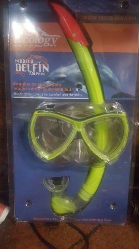 Careta Con Snorkel Ecology