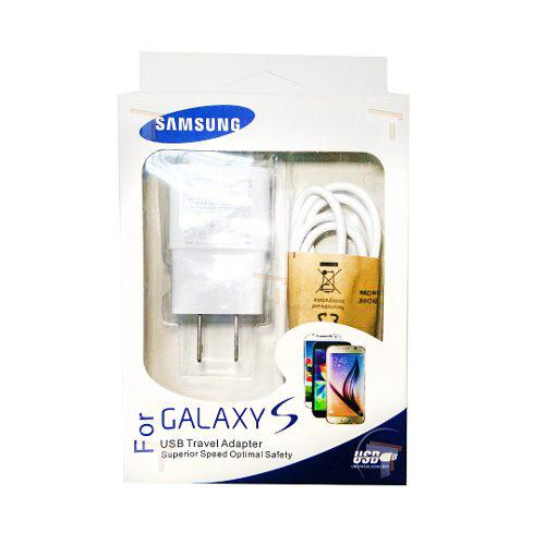Cargador Samsung S3 S4 S5 S6 Cable Incluido 2amp Tt