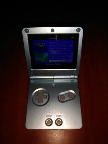 Game Boy Advance Sp Plateado Modelo: Ags-101