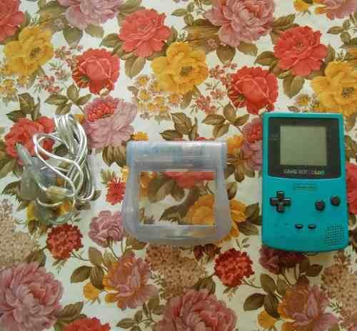 Game Boy Color (usado) Con Accesorios + Lupa