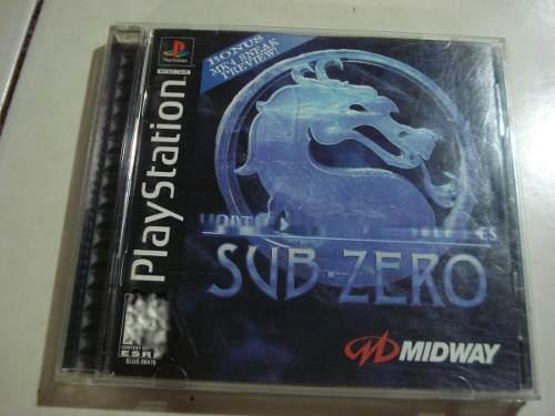 Juego De Coleccion Mk Mythologies Sub Zero Ps1 1ra Edicion