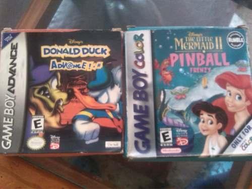 Juegos De Gameboy, Color Y Advance Nuevo Remate