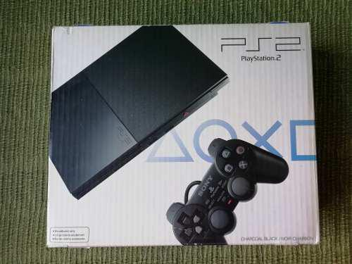 Play Station 2 Con Juegos, Controles Y Memory Card