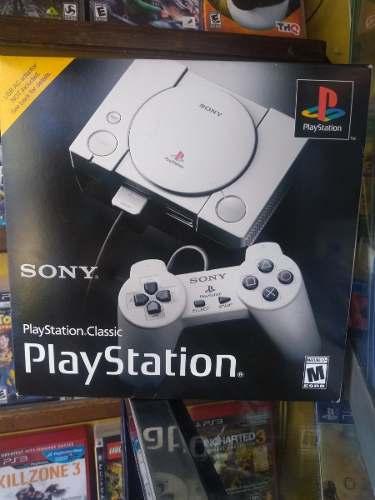 Playstation Classic Mini Nuevo