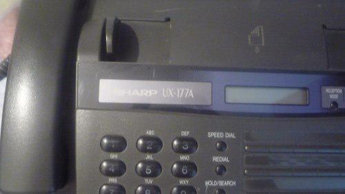 Telefono Fax Marca Sharp 177 A