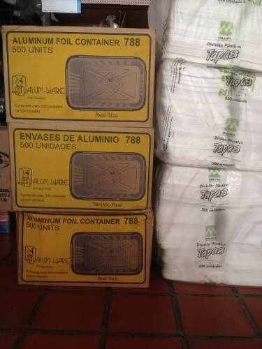 Envase O Bandeja De Aluminio 788, Se Vende Por Bulto