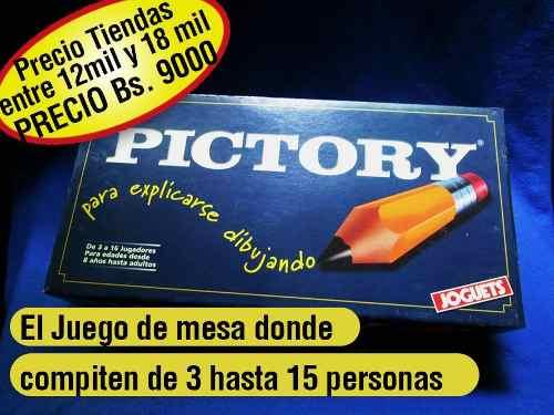 Juego De Mesa Juguete Pictory