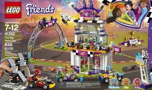 Lego Friends  Día De La Gran Carrera 648 Pzs