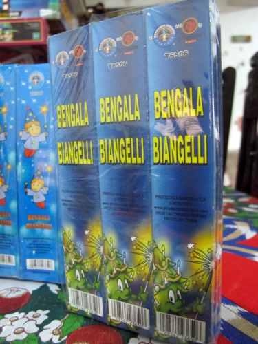Luces De Bengala Chispas Caja De 6 Unidades Y Paquetes De 12