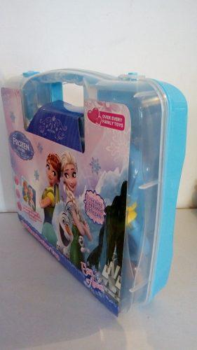 Maletín Con Set De Doctor Frozen Princesa Para Niñas