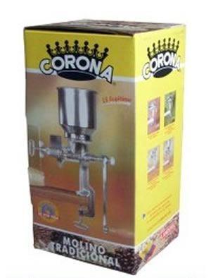 Molino De Maíz Café Granos Etc. Corona Tolva Alta