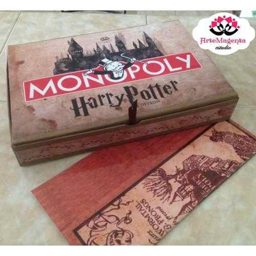 Monopoly Monopolio Edicion Harry Potter Juego De Mesa