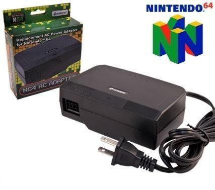 Adaptador De Corriente Nintendo 64 N64 Transformador Cable