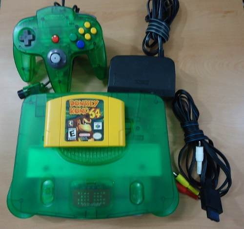 Consola Nintendo 64 + Juego Y Special Edition En **remate**