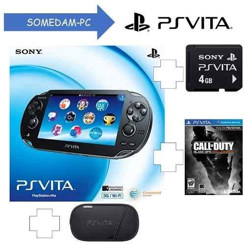 Consola Ps Vita 3g+wifi + Juego + Memoria 4gb + Funda Trump