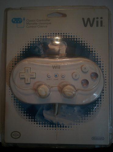 Control Para Wii Clasico