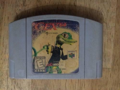 Juegos Nintendo 64 Gex Enter The Gecko
