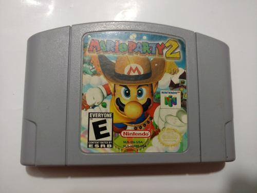 Mario Party 2 Juego De Nintendo 64 N64