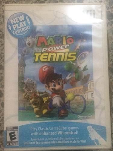 Mario Power Tennis Nintendo Wii Original
