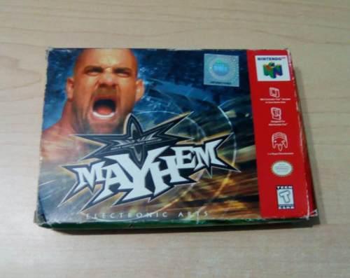 Mayhem N% Funcional. Caja Y Manuales.