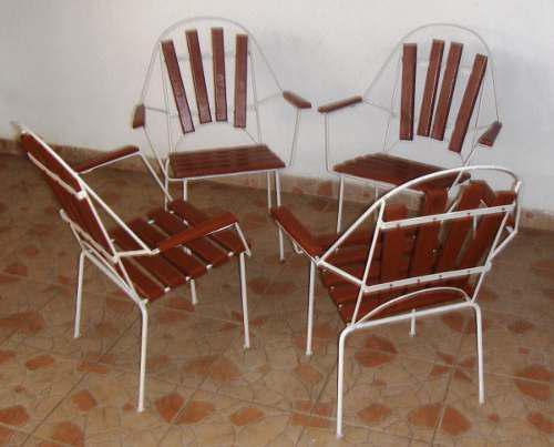 Muebles De Hierro Y Madera Negociable Escucho Ofertas.