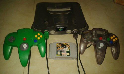 Nintendo 64 Cpn 2 Controles Y Un Juego