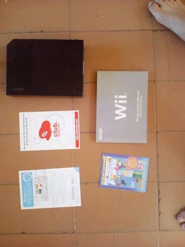 Nintendo Wii Negro + Accesorios Y Juegos