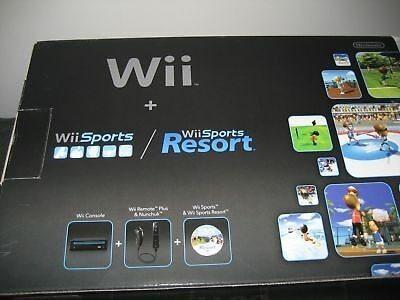 Nintendo Wii Sport Resort Con Sus Accesorios Precio 115$