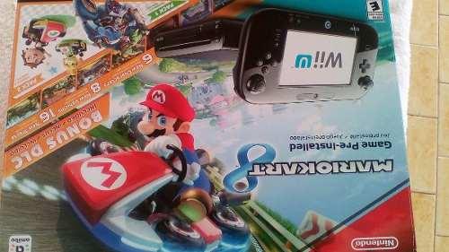 Nintendo Wii U De 32 Gb Mario Bros Deluxe Set Nuevo