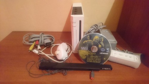 Ofera Nintendo Wii Con Todos Sus Accesorios Y Juego Original