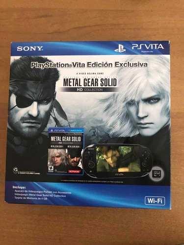 Playstation Vita Edición Exclusiva Hd Collection Ps Tar4gb