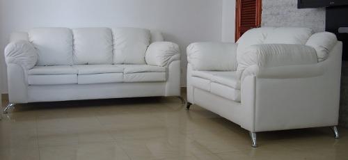 Sofa 3 Puestos En Bipiel,bajamos Los Precios.