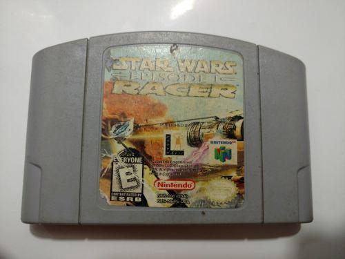 Star Wars: Episode I Racer Juego De Nintendo 64 N64