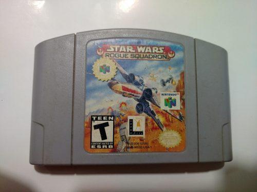 Star Wars: Rogue Squadron Juego De Nintendo 64 N64
