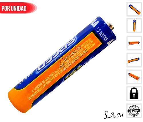 1 Pila Bateria 1.5v Aaa 100% Calidad Ultra Alcalina Poderosa
