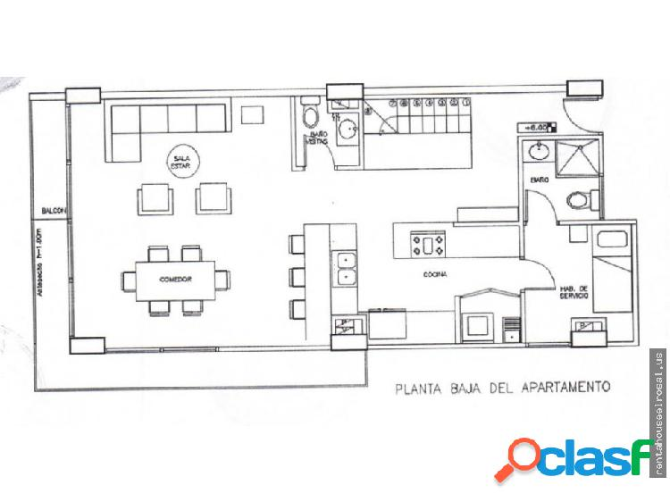 Apartamento en Venta en Caracas DR #16-2716