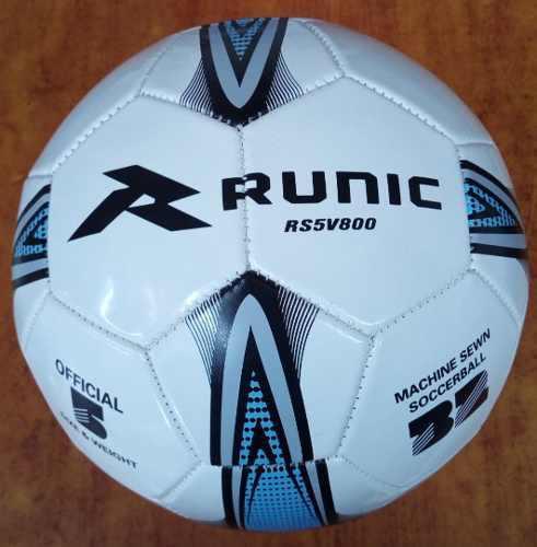 Balon Futbol Marca Runic Tamaños # 4 Y # 5 Cosido