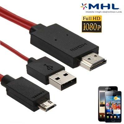 Cable Cargador Adaptador Video Audio 2m Hd p Mhl M F0mc